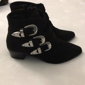 Boots with Buckles size 10 women's